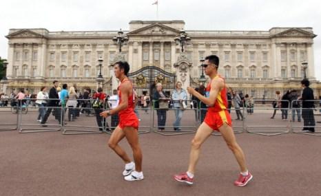 Лондон-2012. Фоторепортаж о лондонском марафоне тестирования LOCOG. Фото: Ian Walton/Getty Images