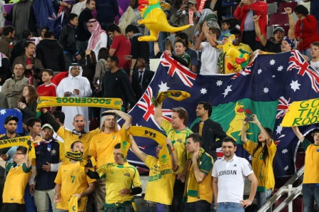 Кубок Азии по футболу. Сборная Австралии разгромила команду Узбекистана. Счет 6:0. Фоторепортаж. Фото:  Robert Cianflone/Getty Images