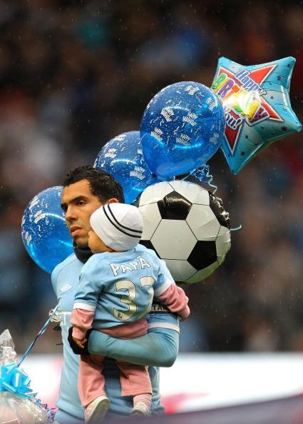 «Манчестер Сити» победил «Вест Бромвичем» благодаря хет-трику Тевеса. Фоторепортаж. Фото: Alex Livesey/Getty Images