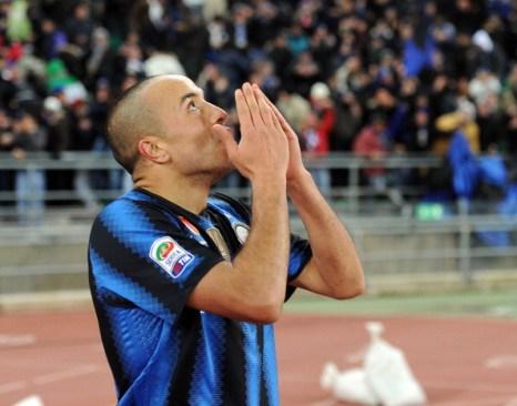 Матч «Интер» - «Бари» сыгран  со счетом 3:0 . Фоторепортаж Фото: Giuseppe Bellini/Getty Images