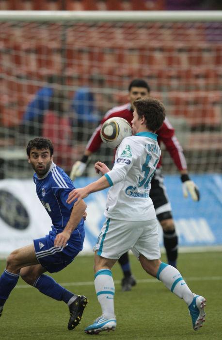 Матч «Зенит» – «Интер Баку» закончился разгромным счетом 0:5 в пользу «Интера». Фото с сайта fc-zenit.ru