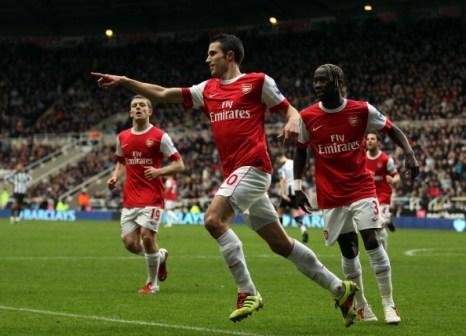 «Арсенал»  - «Ньюкасл» 4:4. Фоторепортаж. Фото: Richard Heathcote/Getty Images