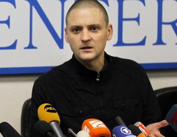 Сергей Удальцов. Фото: Alexey SAZONOV/AFP/Getty Images