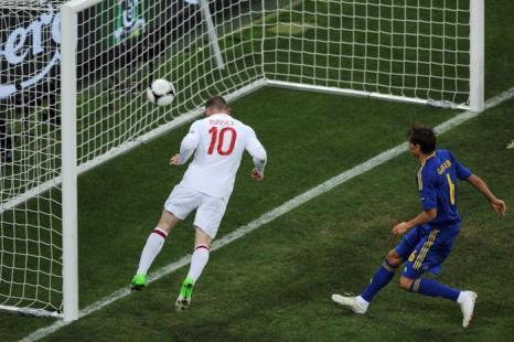 Фоторепортаж и видео с матча Украина–Англия на  Евро-2012. Фото:  Scott Heavey/Getty Images