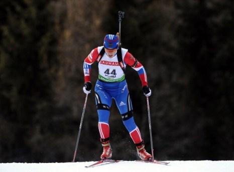 Биатлон. Зайцева завоевала бронзовую медаль Кубка мира. Фото: Stanko Gruden/Agence Zoom/Getty Images