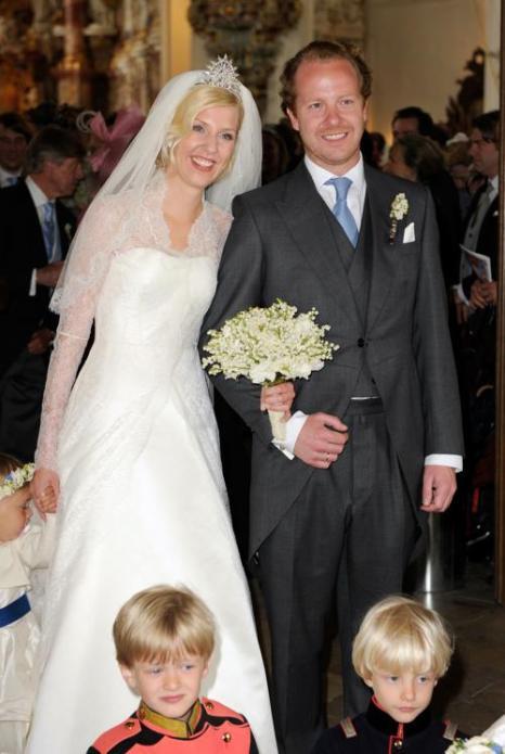 Фоторепортаж о свадьбе  принцессы  Фелипы фон Бавария. Фото: Hannes Magerstaedt/Getty Images