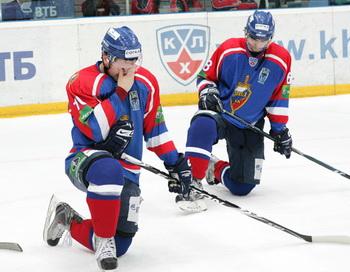 Глава КХЛ Медведев объявил о слиянии ХК «Динамо» и  ХК МВД. Фото с сайта hcmvd.ru