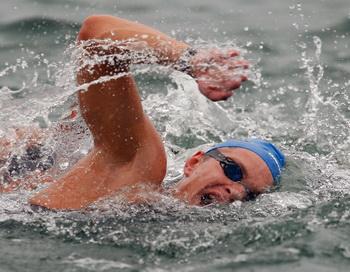 Евгений Дратцев выиграл Кубок мира по плаванию в бразильском Сантосе. Фото: Cameron Spencer/Getty Images
