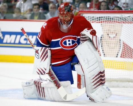 Ярослав Халак вратарь «Монреаль». Фото: Richard WOLOWICZ/Getty Images
