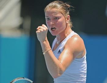 Российские теннисистки вышли в 1/4 финала турнира в Сиднее. Фото: GREG WOODA/AFP/Getty Images