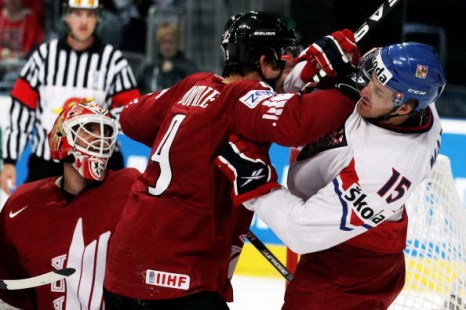 Канада – Чехия. Фото: Alex GRIMM/Bongarts/Getty Images