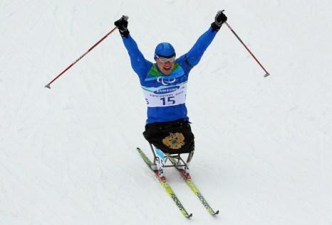 Ирек Зарипов четырехкратный паралимпийский чемпион. Фото: Quinn ROONEY/Getty Images
