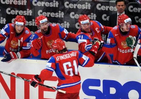 Сборная России. Фото: Alexander NEMENOV/Bongarts/Getty Images