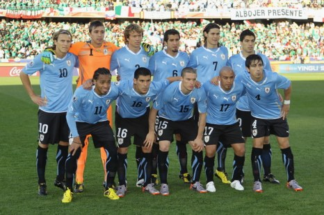 Сборная Уругвай. Фото: Ezra SHAW/Getty Images