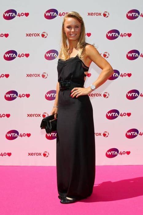 Каролин Возняцки на праздновании 40-летия WTA в Лондоне. Фото: Julian Finney/Getty Images