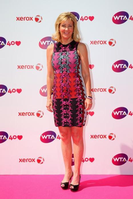 Крис Эверт на праздновании 40-летия WTA в Лондоне. Фото: Julian Finney/Getty Images