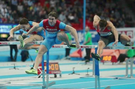 Сергей Шубенков выиграл «золото» на Чемпионате Европы. Фото: Ian Walton/Getty Images