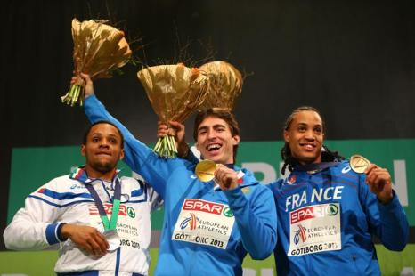 Сергей Шубенков выиграл «золото» на Чемпионате Европы. Фото: Michael Steele/Getty Images