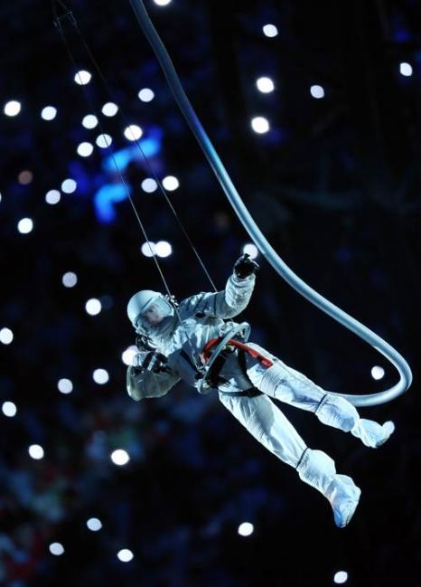 Церемония открытия 27-й всемирной студенческой Универсиады прошла на стадионе «Казань-Арена» 7 июля 2013 года в Казани. Фото: ROMAN KRUCHININ/AFP/Getty Images