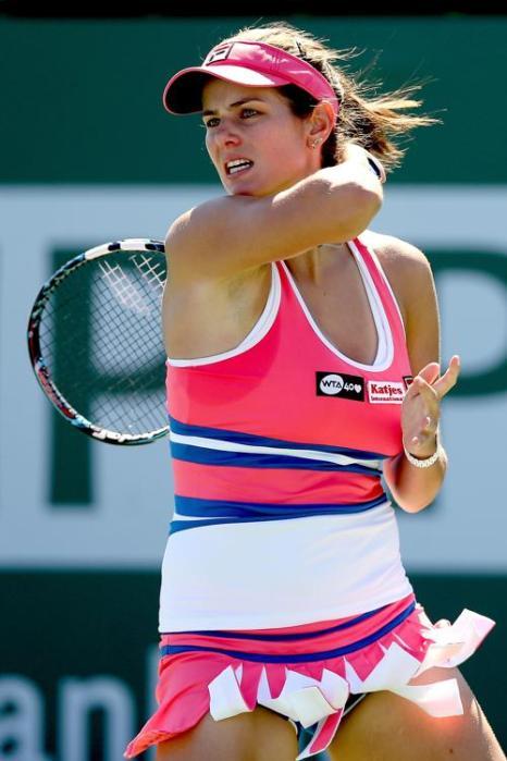 Надежда Петрова вышла в четвёртый круг турнира Индиан-Уэллса Фото: Matthew Stockman/Getty Images
