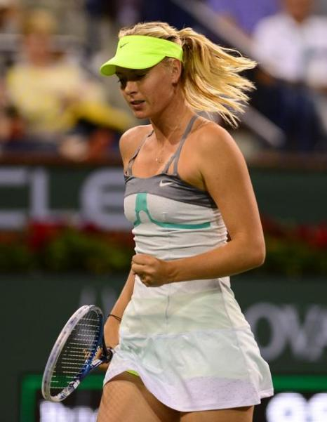 Мария Шарапова вышла в финал турнира Индиан-Уэллса. Фото: FREDERIC J. BROWN/AFP/Getty Images