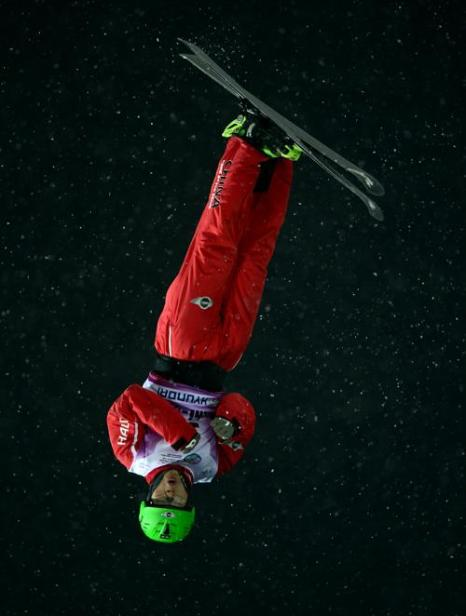 Ки Гуаньпу, 1 место среди женщин. Фото: JAVIER SORIANO/AFP/Getty Images