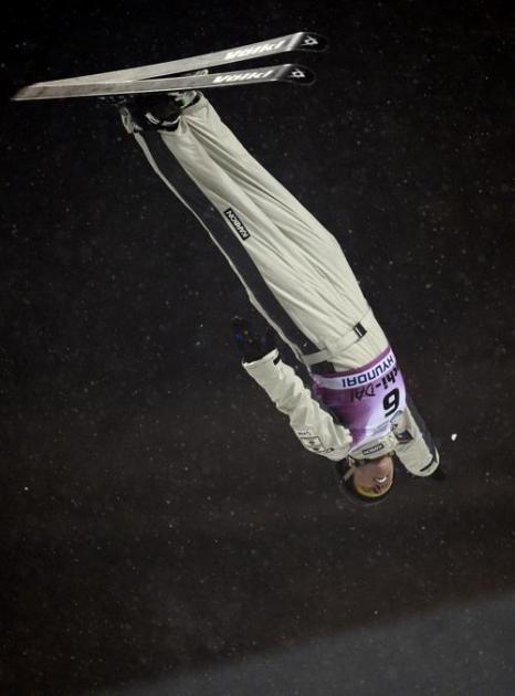 Австралийка Лоре Пил, 2 место среди женщин. Фото: JAVIER SORIANO/AFP/Getty Images