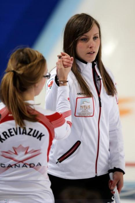 Российская команда победила Данию на ЧМ по кёрлингу. Фото: Dean Mouhtaropoulos/Getty Images