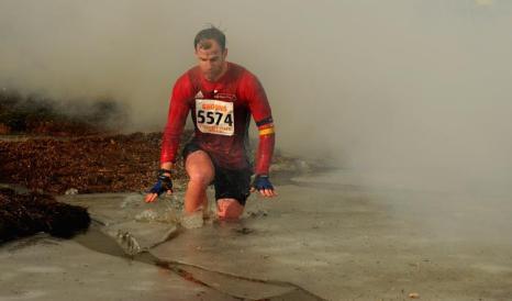 Гонки на выживание «Tough Guy-2013» 27 января 2013 года в Телфорде. Англия. Фото: Michael Regan / Getty Images