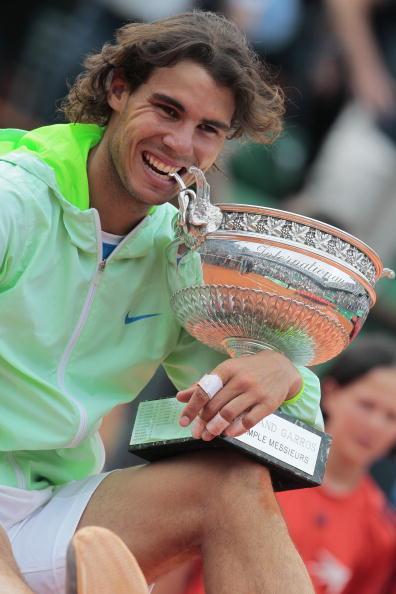 Рафаэль Надаль выиграл Открытый чемпионат Франции. Фото: Julian Finney/Getty Images