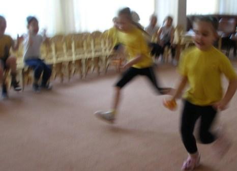 Детский блицспринт.Фото предоставлены Федерацией блицспринта