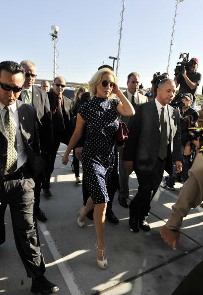 Фоторепортаж о Линдси Лохан на судебном заседании в Лос-Анджелесе. Фото: Toby Canham/Getty Images