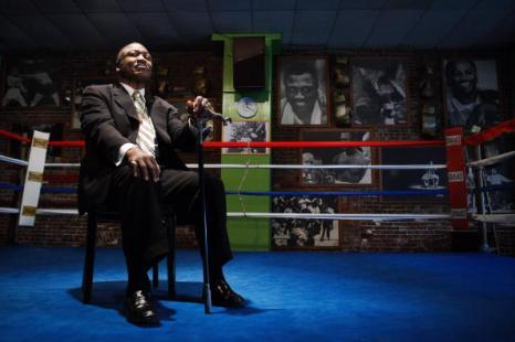 Памяти легендарного боксера Джо Фрейзера. Фото: AFP/Getty Images