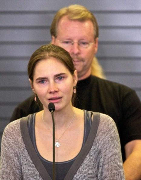 Фоторепортаж  c пресс-конференции Аманды Нокс  в ее родном  Сиэтле. Фото: Stephen Brashear/Getty Images