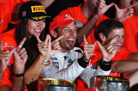 Дженсон Баттон выиграл основную гонку Гран-при Японии. Фоторепортаж с чемпионата «Формулы-1». Фото: Clive Rose/Getty Images