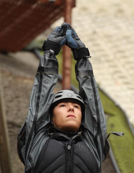 Фоторепортаж о тренировках фристайлера  Лидии Лассилы в Мельбурне. Фото: Robert Cianflone/Getty Images