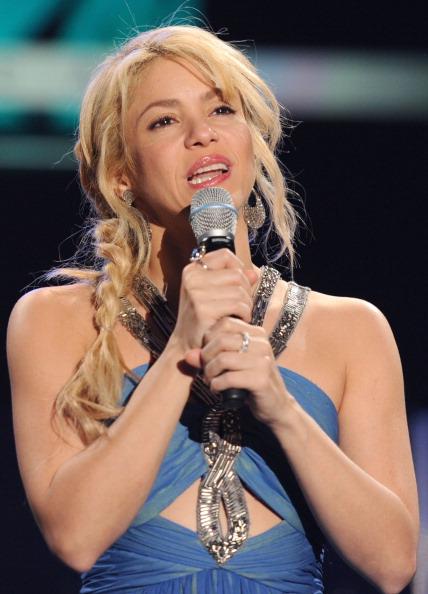 Шакира получила награду Латинской академии звукозаписи. Фоторепортаж  из Лас-Вегаса. Фото: Frazer Harrison/Getty Images for Latin Recording Academy