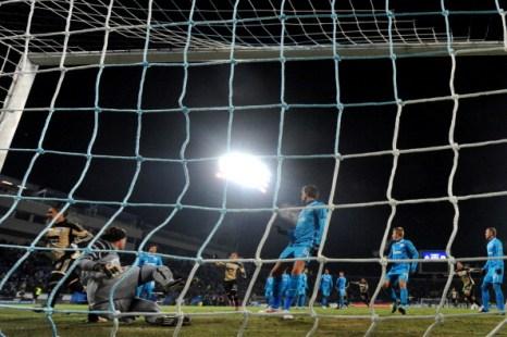 «Зенит » - «Бенфика» - 3:2. Фоторепортаж с матча. Фото: KIRILL KUDRYAVTSEV/AFP/Getty Images