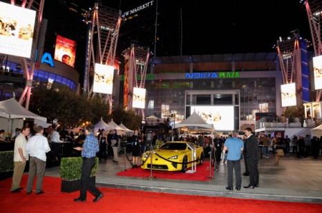 Автомобили на фестивале продуктов питания и вин  в Лос-Анджелесе. Фото: John Sciulli/Getty Images for DCP