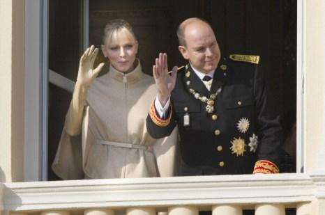 Фоторепортаж о королевской семье в Национальный день Монако. Фото: Cardinale - PLS Pool /Pascal Le Segretain/Getty Images