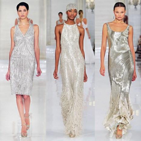 Фотографии лучших вечерних платьев сезона осень-зима 2011-2012. Фото с сайта kanitel.com.ua