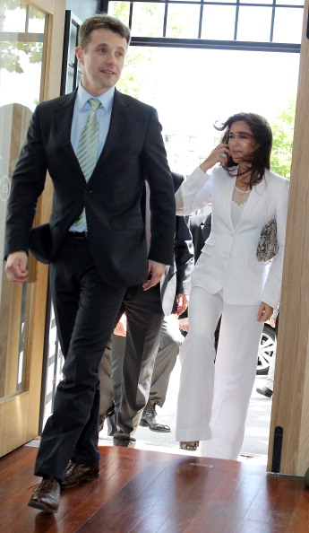 Фоторепортаж о принцессе и принце Дании Мэри и Фредерике в Мельбурне. Фото: William West /Alex Coppel-Pool/Getty Images
