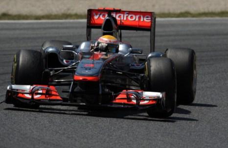 Renault и McLaren в автогонках Формулы-1 заняли призовые места. Фоторепортаж из Барселоны. Фото: Paul Gilham/Vladimir Rys/Mark Thompson/ DIMITAR DILKOFF/AFP/Getty Images