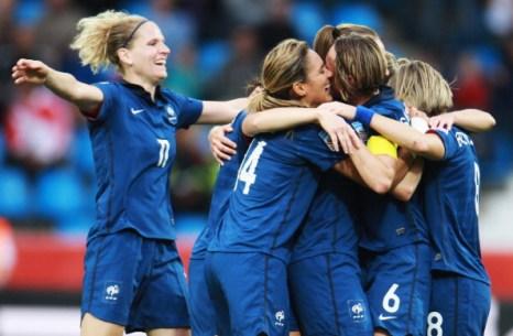 Фоторепортаж с матча: сборная Франции выиграла у команды Канады со счетом 4:0. Фото: Joern Pollex/Alex Grimm/Bongarts/Getty Images