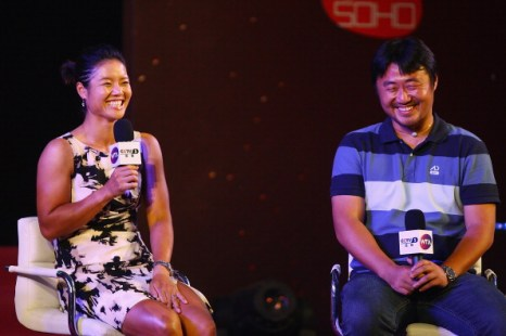 Фоторепортаж о китайской теннисистке Ли На – победительнице «Ролан Гаррос». Фото: Lintao Zhang/Getty Images)