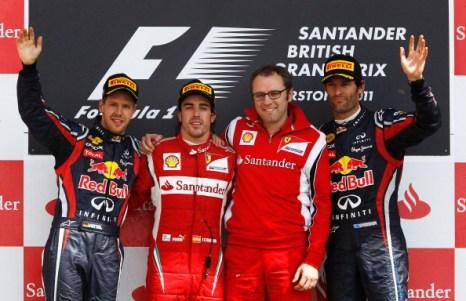 Фернандо Алонсо выиграл Гран-при Великобритании «Формулы-1». Фото:  Mark Thompson/ Clive Mason/ Paul Gilham /Getty Images