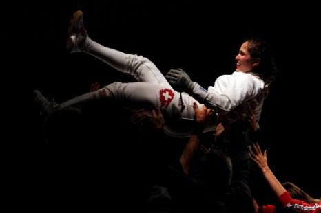 Алексей Якименко завоевал золото чемпионата Европы по фехтованию на саблях. Фоторепортаж из Шеффилда. Фото: Dean Mouhtaropoulos/Getty Images