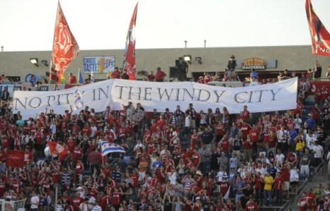 Фоторепортаж с футбольного матча «Портленд» – «Чикаго». Фото: David Banks/Getty Images