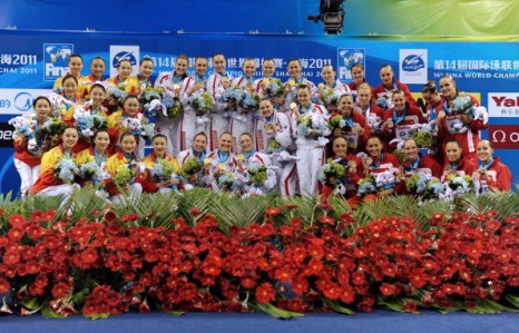 Россиянки выиграли пятую золотую медаль по синхронному плаванию Фото:  Quinn Rooney/Getty Images