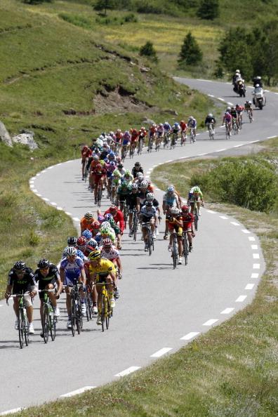 Восемнадцатый этап велогонки Tour de France выиграл Энди Шлек из Люксембурга.  Фоторепортаж с трассы. Фото: Michael Steele/ JOEL SAGET /PASCAL PAVANI/AFP/Getty Images